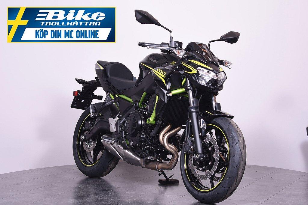 Kawasaki Z650 NY med 5 års garanti!