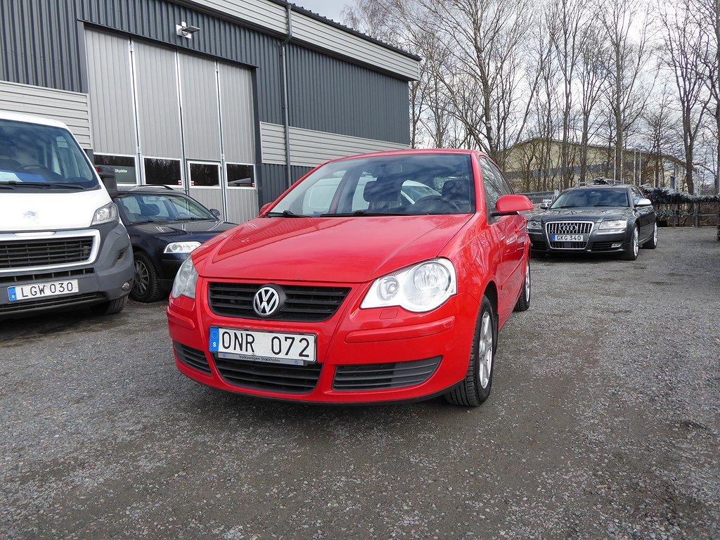 Volkswagen Polo 5-dörrar 1.4 Comfort 80hk Svensksåld
