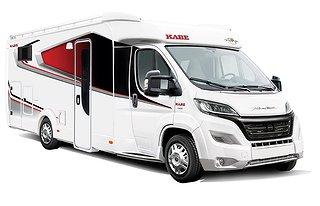 Husbil-halvintegrerad Kabe TRAVEL MASTER CLASSIC 740 LGB