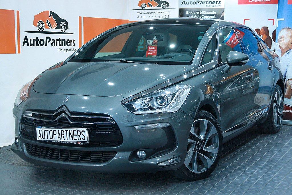 """Citroën DS5 2.0 HDi AUT 163hk """"MAXUTRUSTAD"""" TOPPSKICK!"""