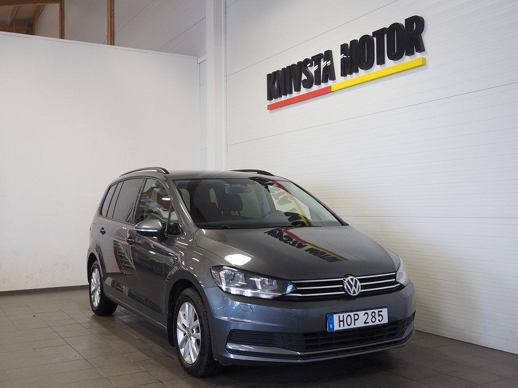 Volkswagen Touran 2.0 TDI Aut 150k Euro 6 7-sits (D-värmare) 2018
