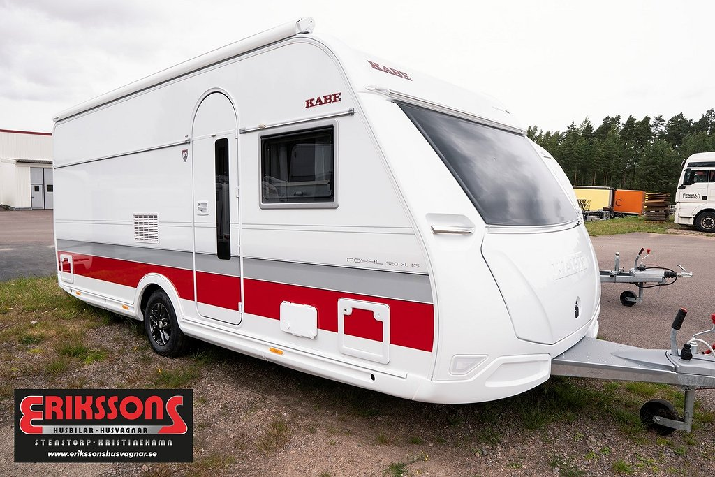 "Kabe Royal 520 XL KS ""Fullutrustad med mover"""