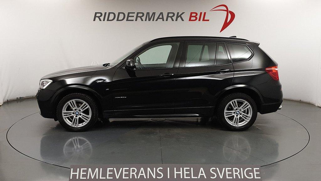 BMW X3 xDrive20d M Sport Pano D-Värm EU6 190hk