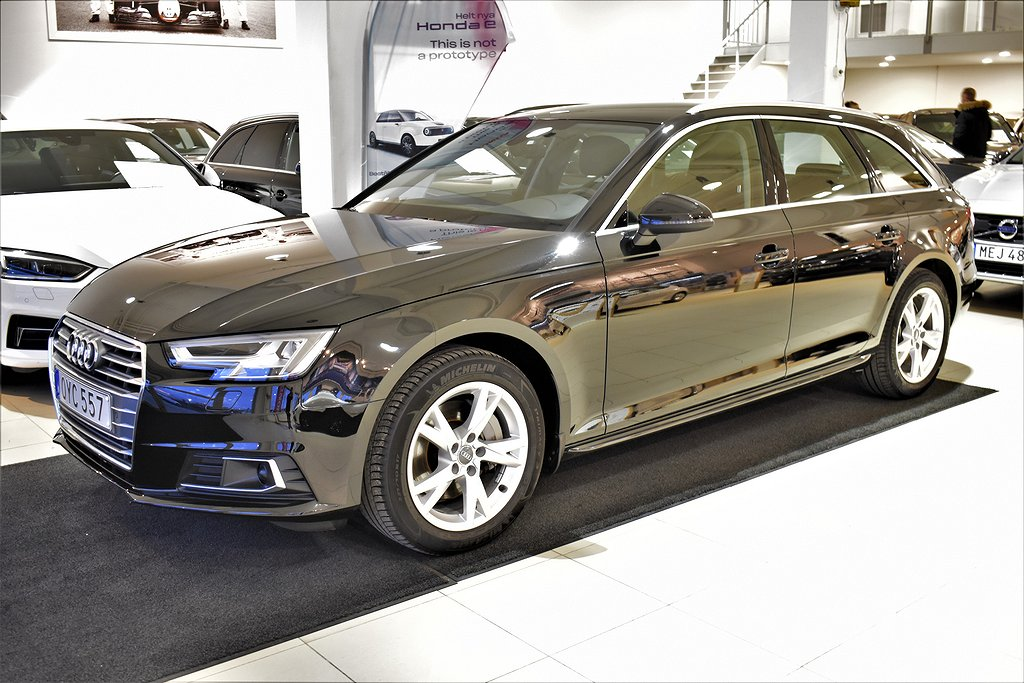 Audi A4 HEMLEVERANS 2.0 TDI Q D-värm. Drag Aut Proline Avant Moms Euro 6