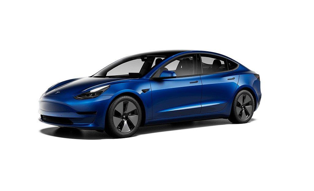 Tesla Model 3 Standard Range Plus Dragkrok Nya modellen