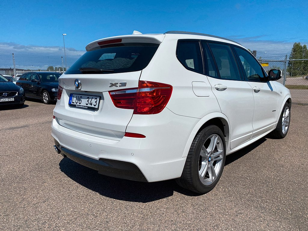 BMW X3 xDrive30d Steptronic M Sport 258hk panorama