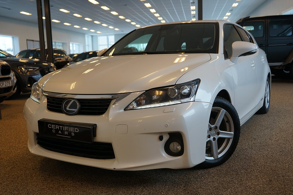 Lexus CT 200h 1.8 CVT Luxury 136hk