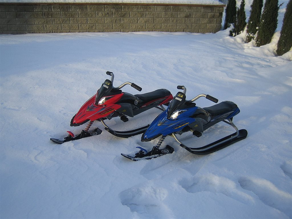 Yamaha Kids Snow Bike
