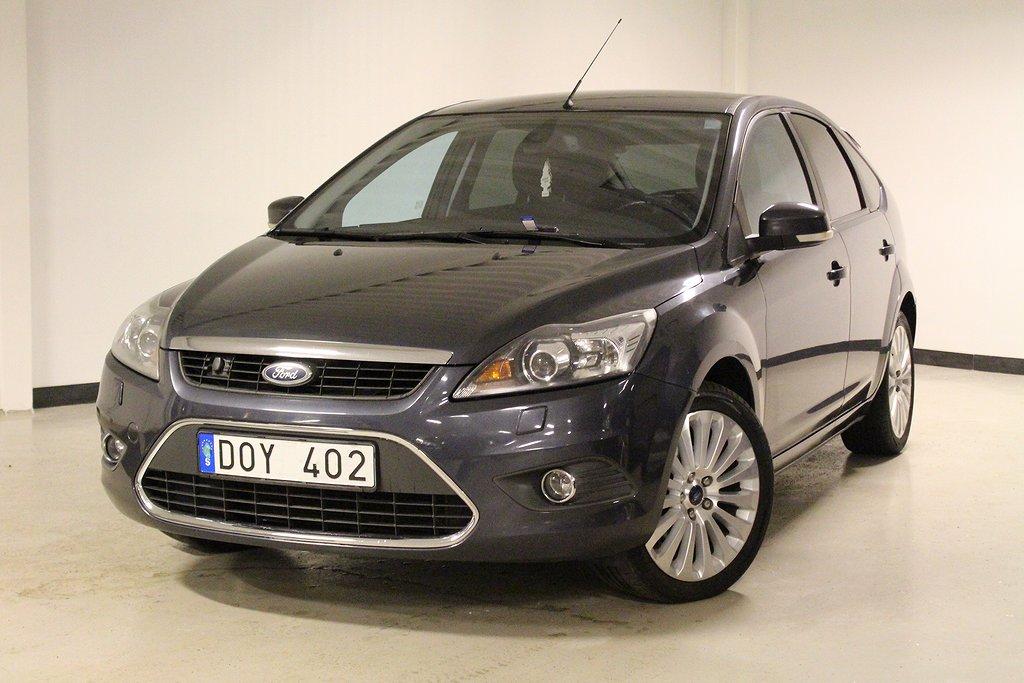 Ford Focus 5-dörrars  1.8 Duratec Flexifuel 125hk