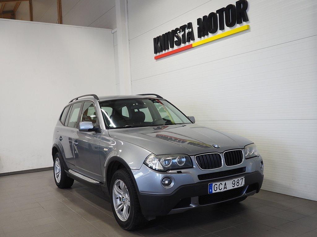 BMW X3 2.0i Comfort DRAG 150hk 2008