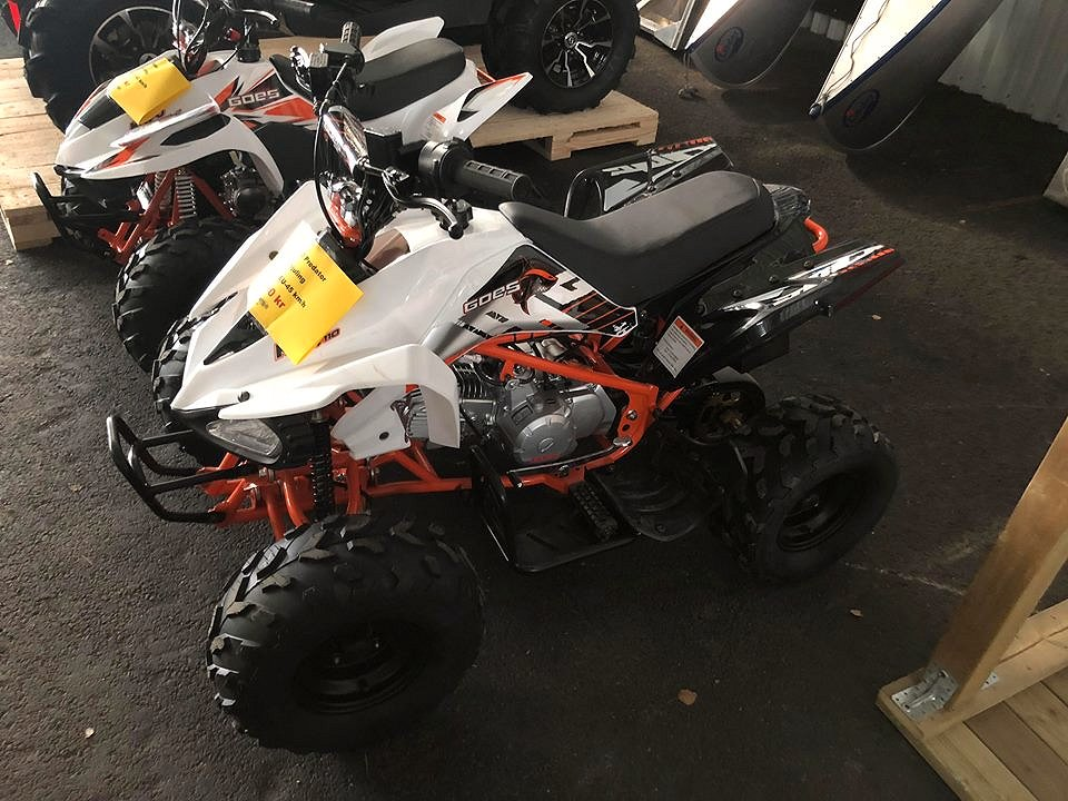 Goes 110 Predator Barnfyrhjuling