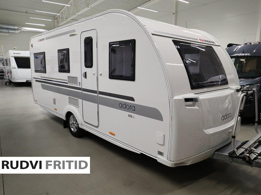 Adria Adora 512 UL *Mover*Förtält*Långbädd - Adria
