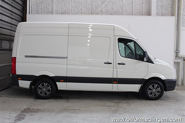 Volkswagen Crafter 35 2.5 TDI 136Hk Drag Climatic