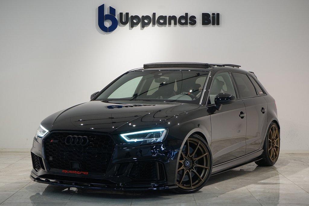 Audi RS3 SPORTBACK RECARO PANORAMA 550Hk MILLITEC EXTREM