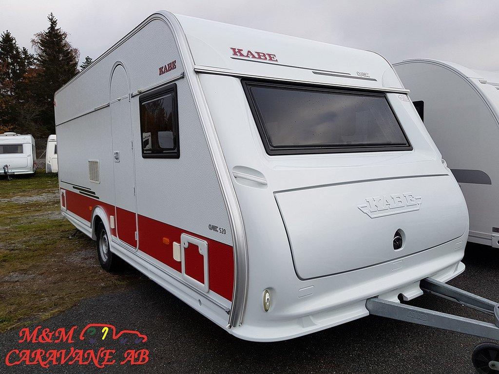 Kabe Classic 520 XL KS Dubbelbädd