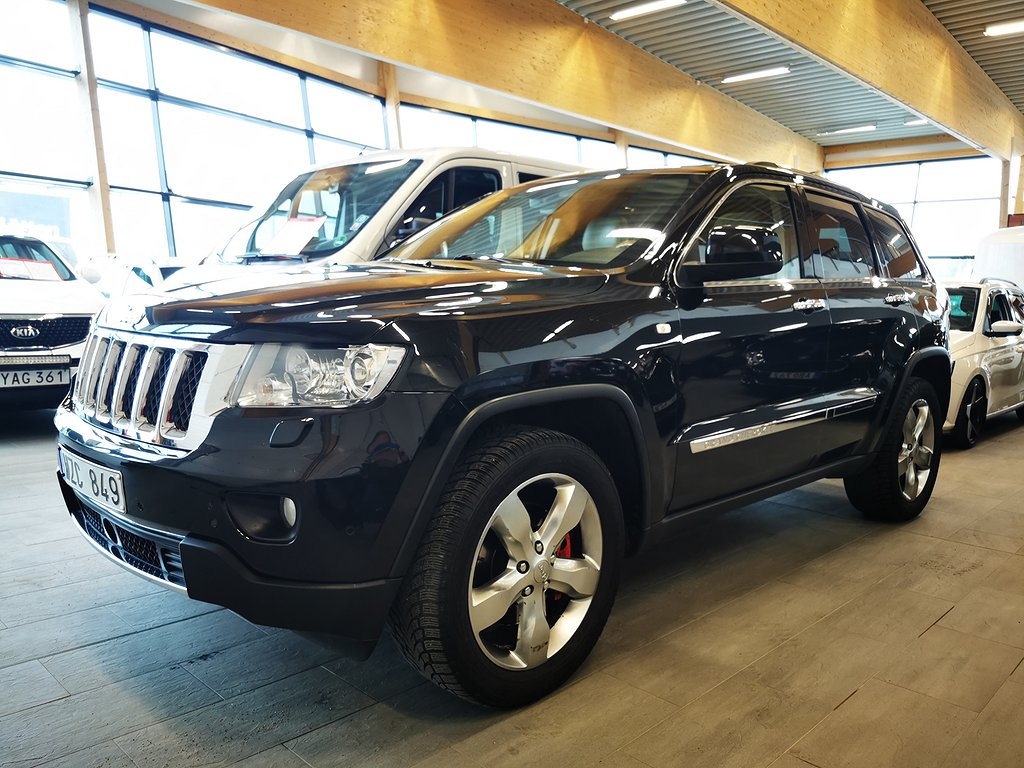 Jeep Grand Cherokee 3.0 V6 CRD 4WD Aut241hk OVERLAND