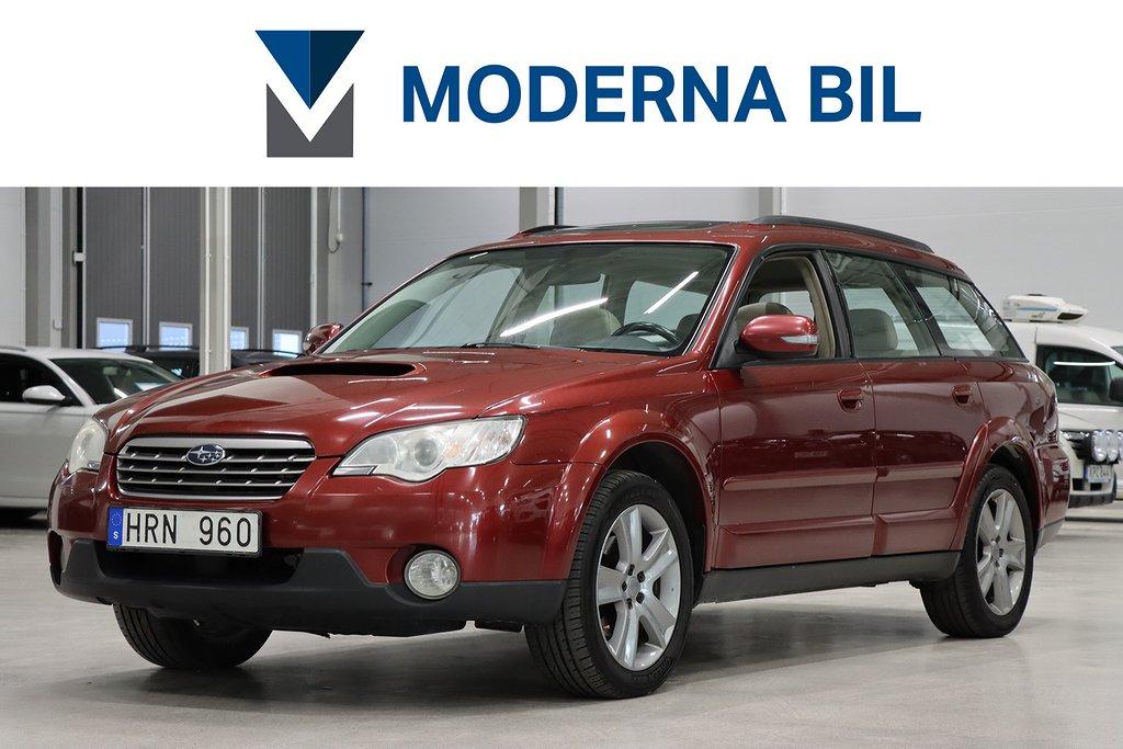 Subaru Outback 2.0 4WD 150HK M+KUPÉVÄRM DRAG EXCLUSIVE