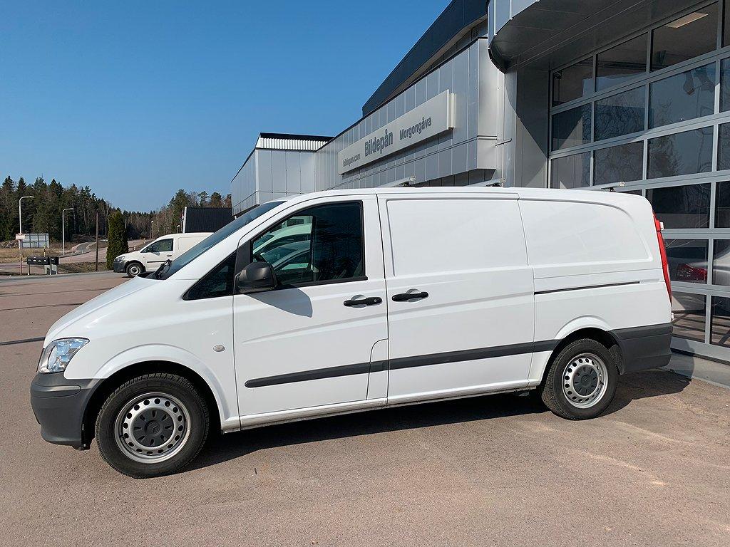 Mercedes-Benz Vito 113 CDI Lång 136 Hk P-värmare drag