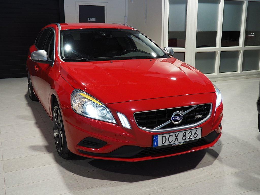 Volvo V60 T5 Momentum R-Design drag 2012
