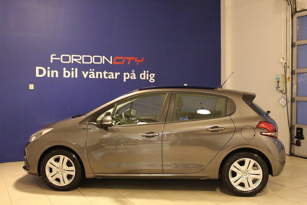 Peugeot 208 5-dörrar 1.2 VTi Euro 6 82hk