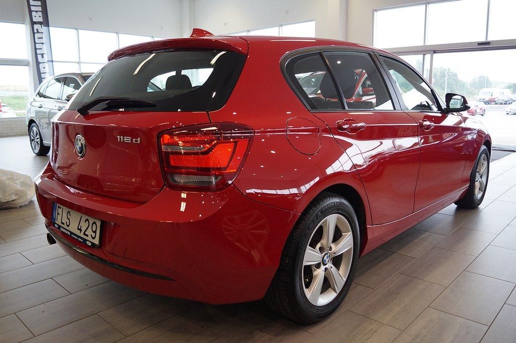 BMW 118 d 5-d Sport line 143hk