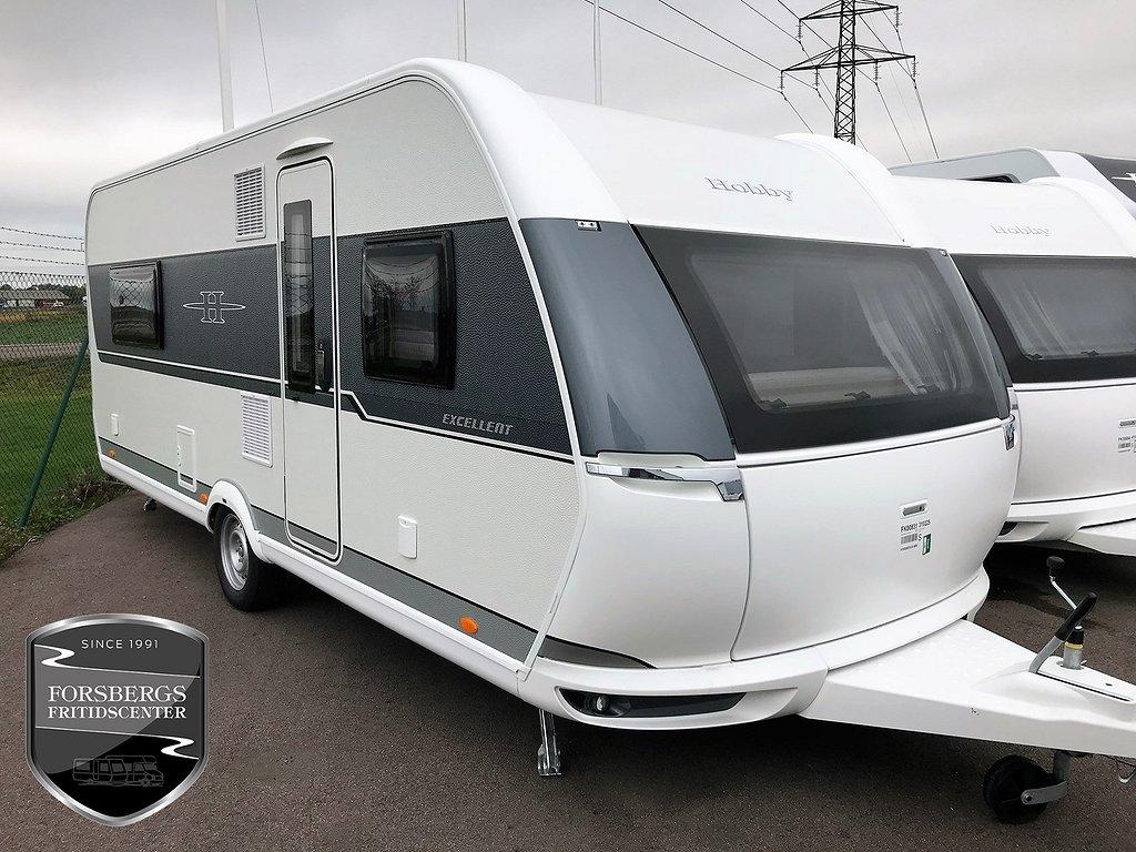 Hobby 560 LU Excellent Enkelsängar / Stor kyl / ALDE