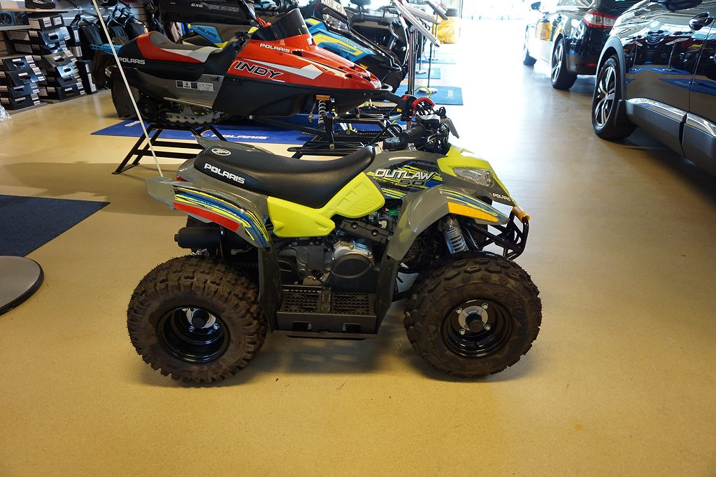 Polaris Outlaw 50 Grey/Lime