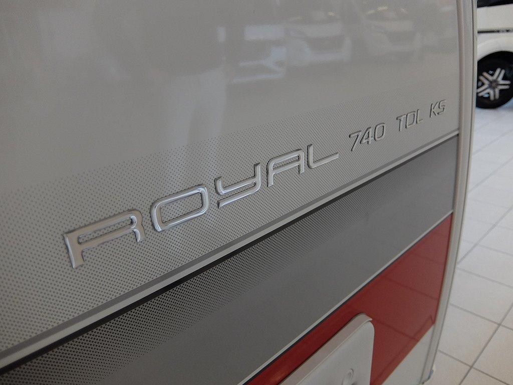 Husvagn, 2-axl Kabe Royal 740 TDL KS E2 8 av 22