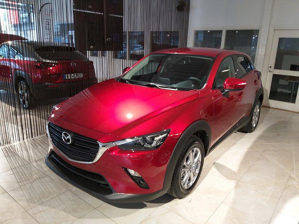 Mazda CX-3 SUV 2,0 121 hk Aut Vision OMG. Lev. 10- Års Garanti