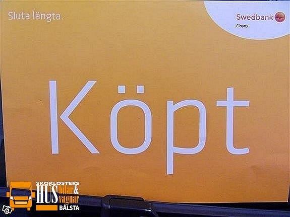 Frankia SÅLD 840 I GD 5 Bältade sittplatser 180hk Automat