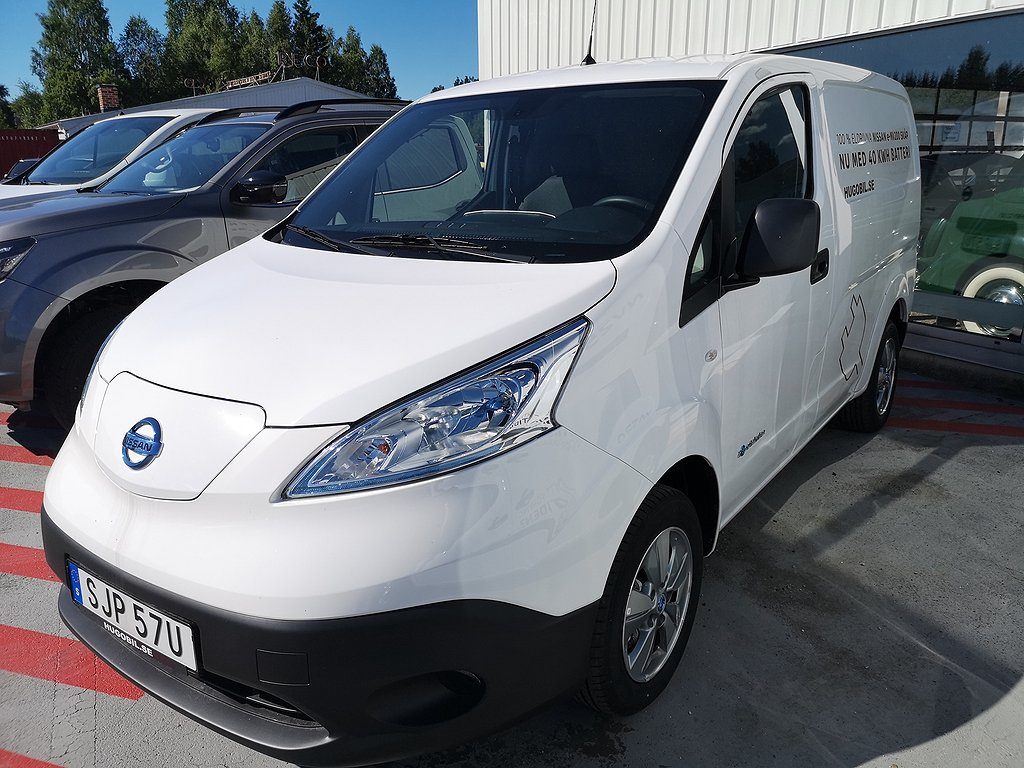 Nissan e-NV200 Skåp 40kWh Premium 309.900 ex. moms