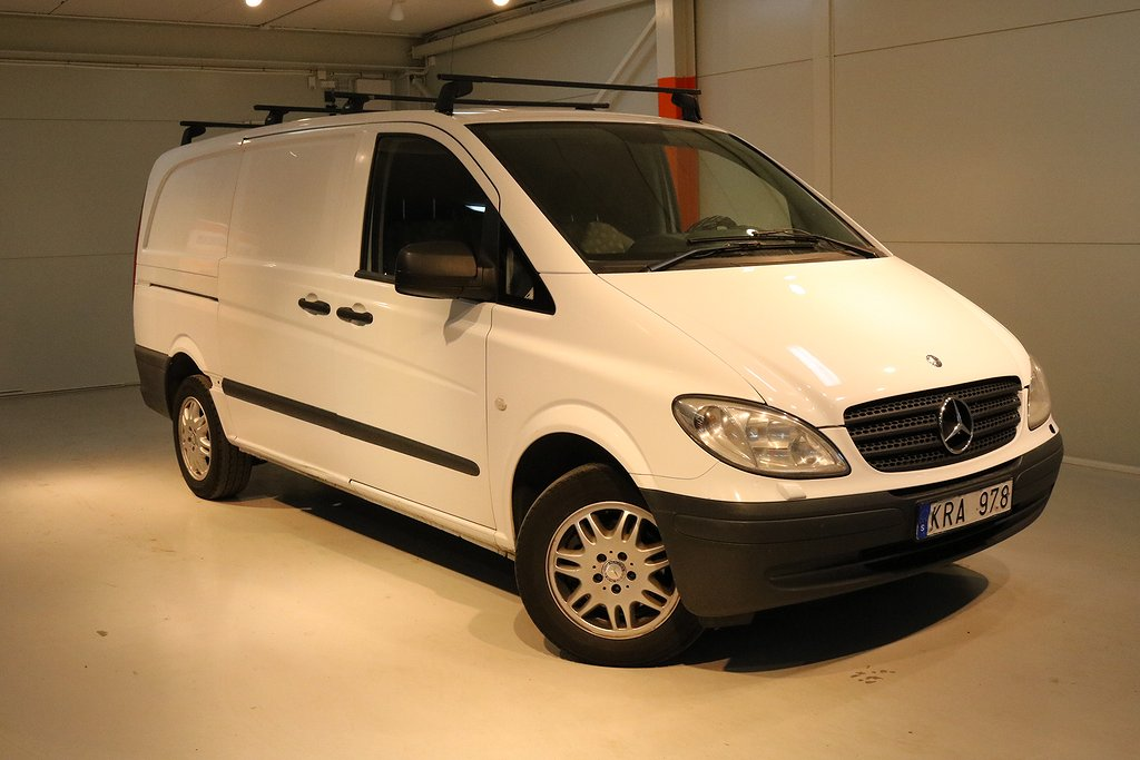 Mercedes-Benz Vito 111 CDI TouchShift 116HK Momsbil dragkrok