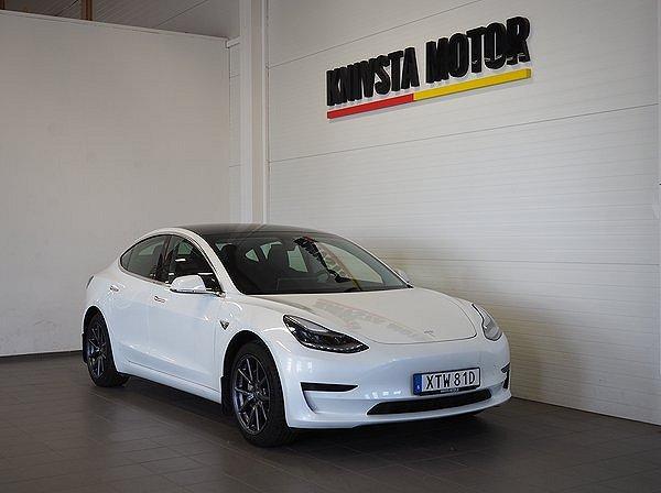 Tesla Model 3 Standard Range Plus, 36 MÅNADERS FÖRETAGSHYRA 2020
