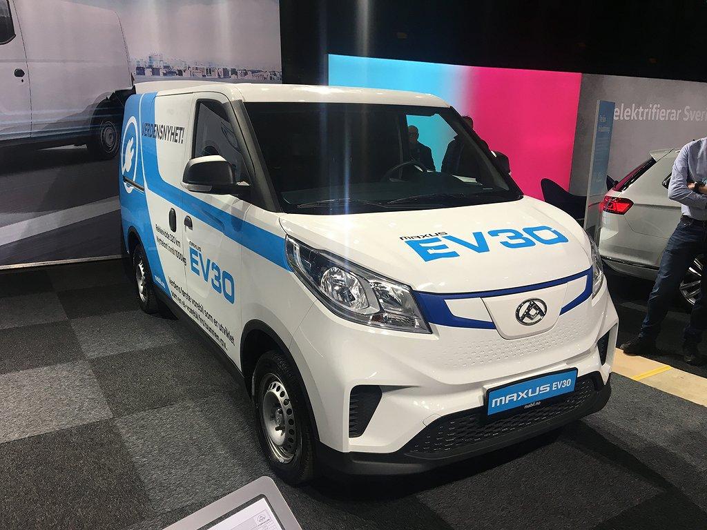 Maxus e-Deliver3 EV30 35 kWh 6,3m3 NYHET! 100% El skåpbil