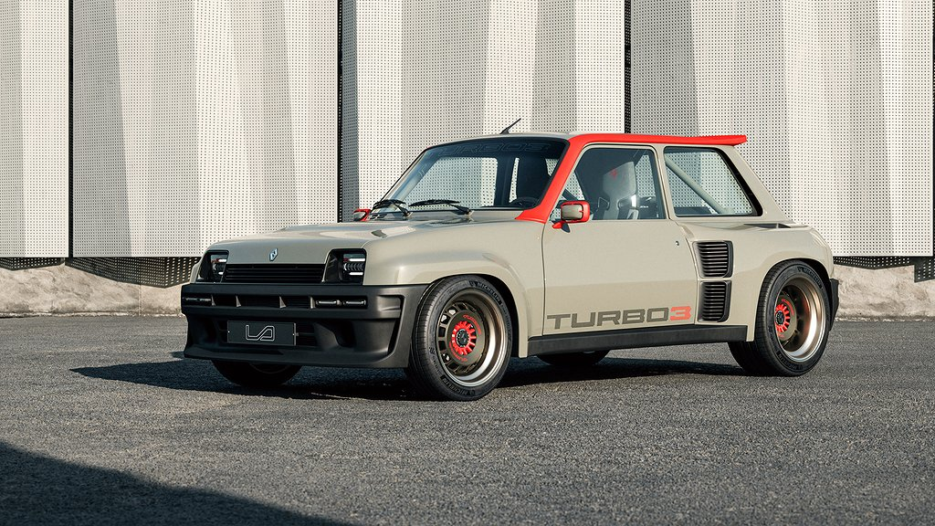 Renault 5 Turbo 3 på sidan