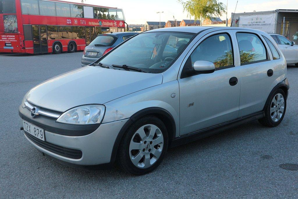 Opel Corsa 5-dörrar 1.4 Sport 90hk - Kedja