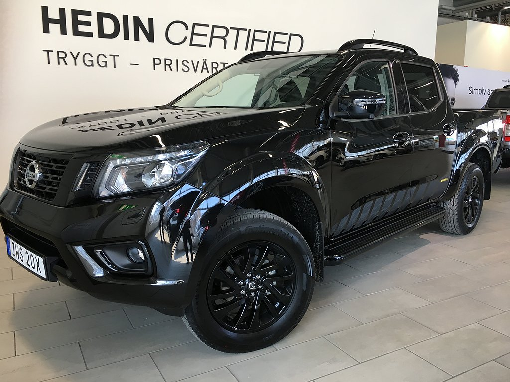 Nissan Navara NAVARA 2.3 DCI 190 HK 7AT N-GUARD BLACK