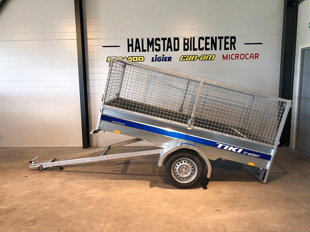 Tiki-Treiler CS250-R Tippbart släp inkl galler