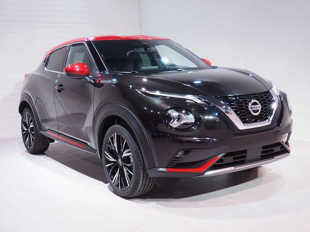 "Nissan Juke DIG-T 114HP 7DCT N-Design 19"" Privatleasing 36mån 2021"