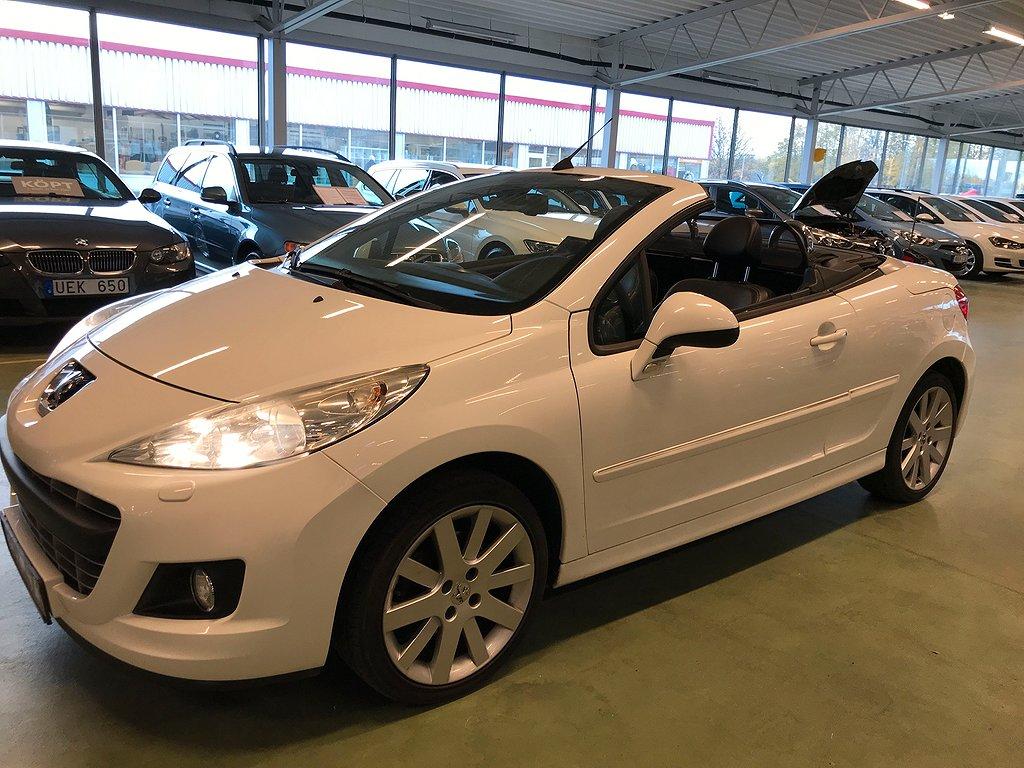 Peugeot 207 CC 1.6 Sport 120hk CAB / SKINN