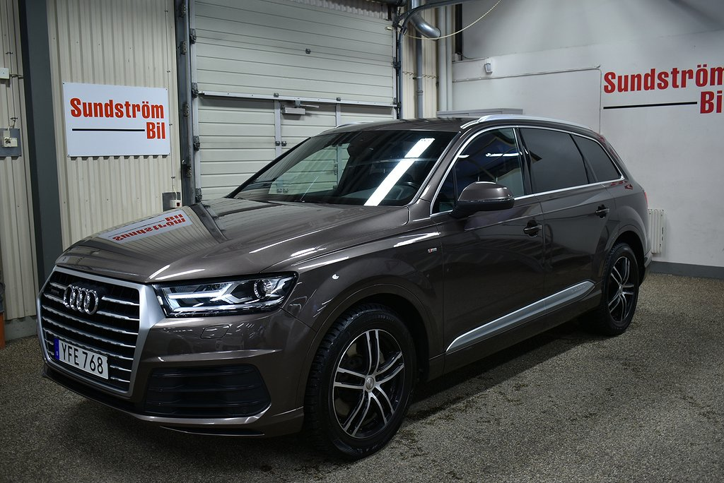 Audi Q7 3.0 TDI 272Hk Quattro S-line 7-Sits Aut