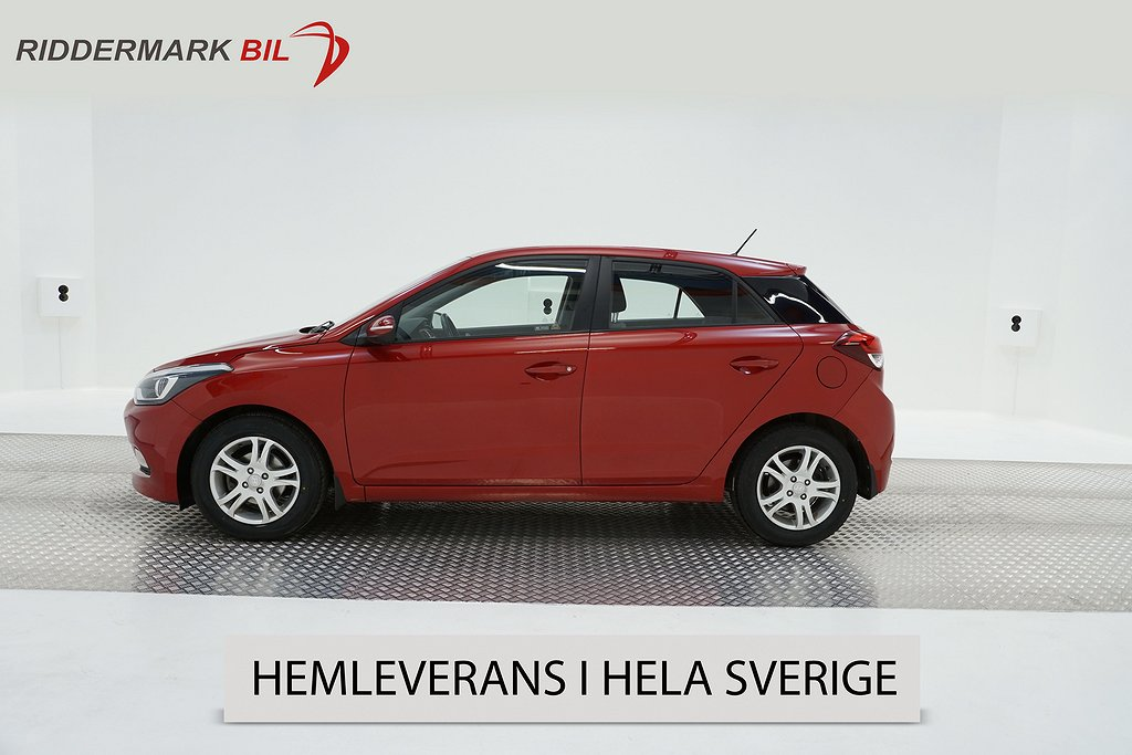 Hyundai i20 1.4 101hk EU6 Rattvärme Nyservad Nybesiktad