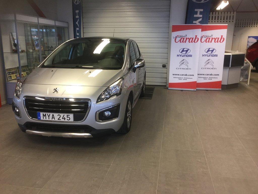 Peugeot 3008 1.6 BlueHDi Style. EAT Euro 6 120hk