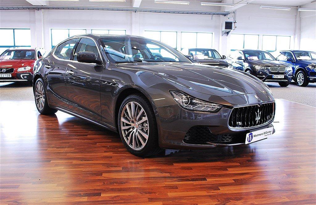 Maserati Ghibli S V6 410 hk *Svensksåld*