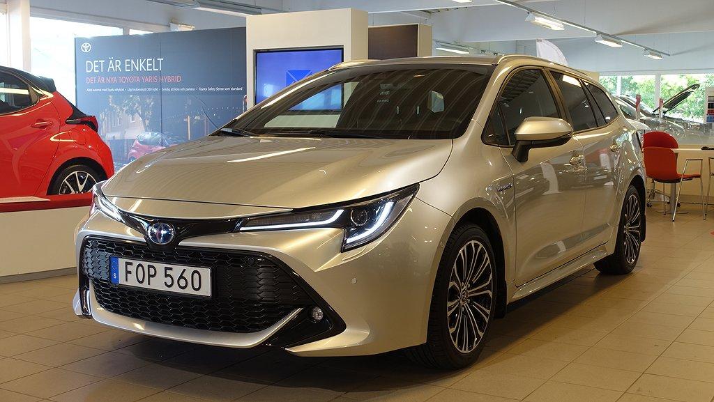 Toyota Corolla 2,0 HYBRID TS STYLE TEKNIKPAKET V-HJUL DRAG
