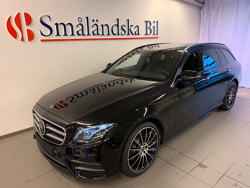 Mercedes-Benz E 400d 4MATIC AMG NIght  9G-Tronic Euro 6 340hk