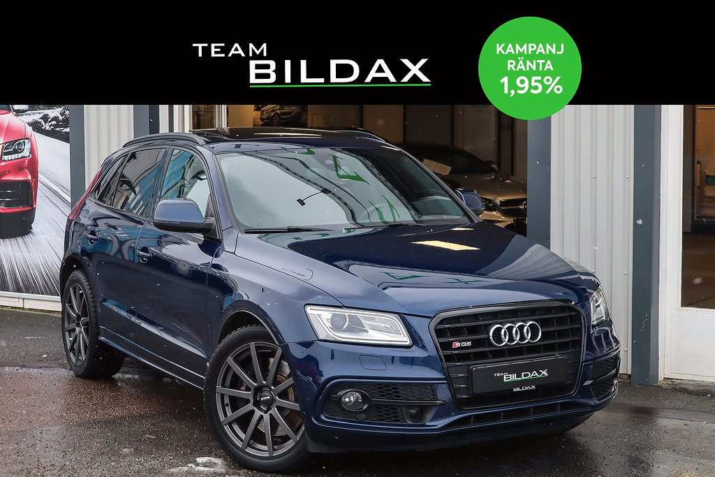 Audi SQ5 TDI 313HK V6 Q VÄRMARE PANORAMA EXCLUSIVE 1.95%