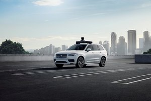 Volvo Cars and Uber present production vehicle ready for self-driving