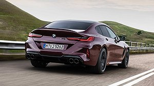 BILD-EXTRA: Nya BMW M8 Gran Coupe - premiär i natt