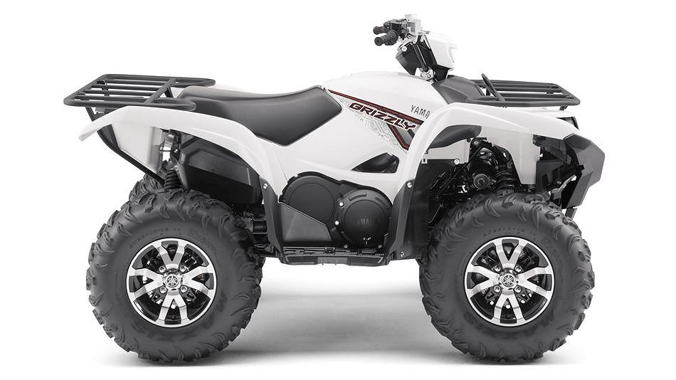 Yamaha GRIZZLY 700 EPS White ny färg